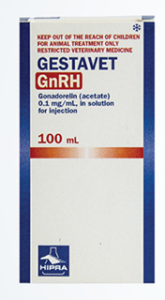 Gestavet GnRH packaging